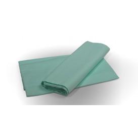 Posteľné prestieradlo bavlnené svetlo zelené