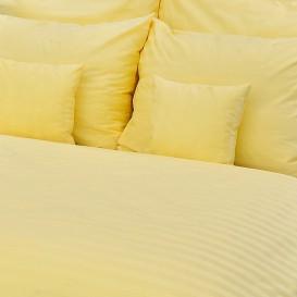 Hotelové posteľné obliečky Žlté