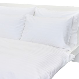 Hotelové posteľné obliečky Biele