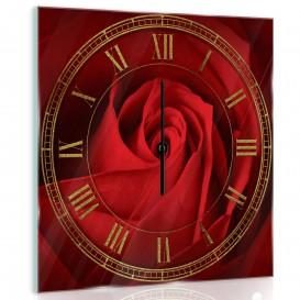 Nástenné hodiny - NH0075 - Ruža