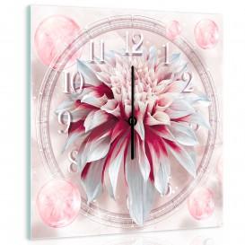 Nástenné hodiny - NH0077 - Kvety