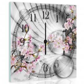 Nástenné hodiny - NH0093 - Kvety