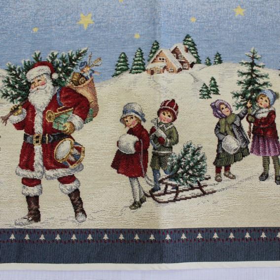 Vianočný gobelínový obrus Nostalgia