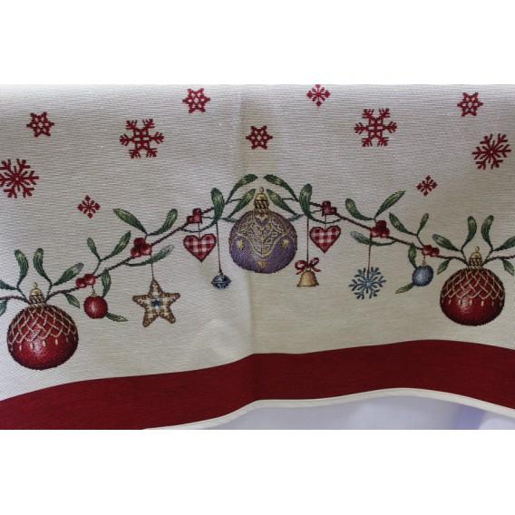 Vianočný gobelínový obrus Vianočná nálada
