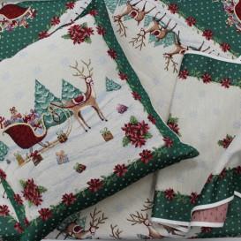 Vianočný gobelínový obrus čarokrásne Vianoce