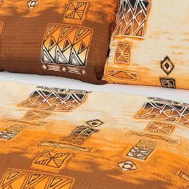 Posteľné obliečky krepové Africké