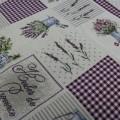 Gobelínový obrus Levanduľová záhrada