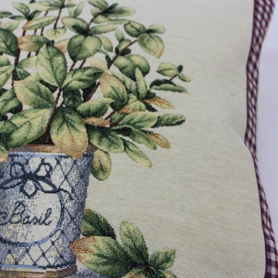 Gobelínová obliečka Levanduľová záhrada