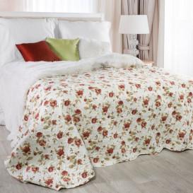 Prehoz na posteľ červené ruže 220cmx240cm