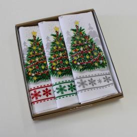 Vianočné utierky sada 3ks