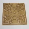 Polystyrénová stropná kazeta zlatá 42- 1m2
