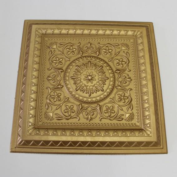 Polystyrénová stropná kazeta zlatá 38 - 1m2