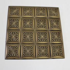 Polystyrénová stropná kazeta zlatá 81-2 - 1m2