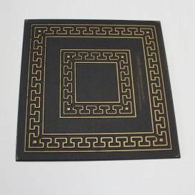 Polystyrénová stropná kazeta čierno-zlatá 23 - 1m2