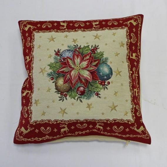 Vianočný gobelínový obrus Vianočná ruža
