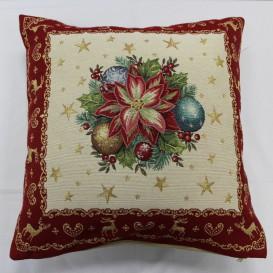 Gobelinova obliečka Vianočná ruža