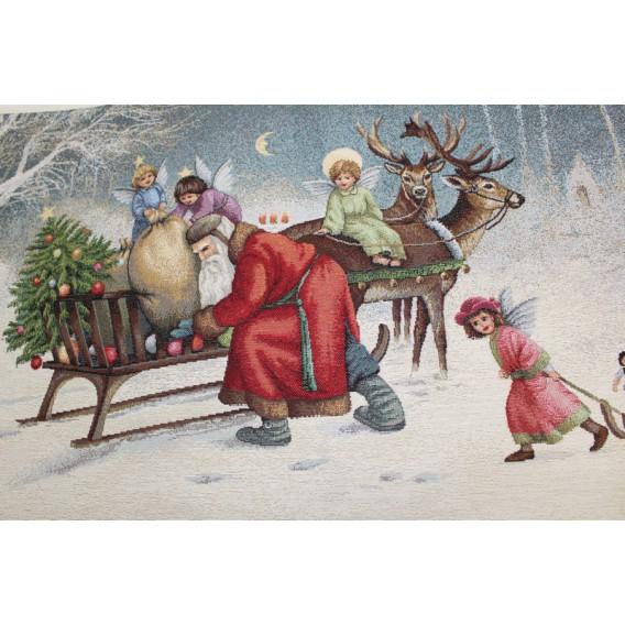 Gobelínový obrus vianočný Štedrosť 40x70cm