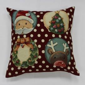 Gobelinova obliečka Vianočná Veselé Vianoce