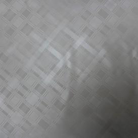 PVC obrus biely