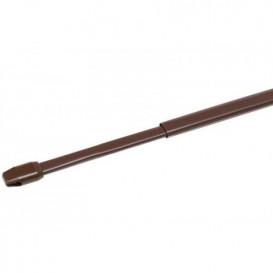 Vitrážka hnedá 100-150cm 2ks