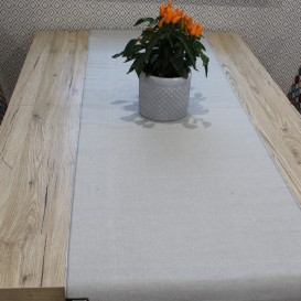Štóla 45x150cm sivá
