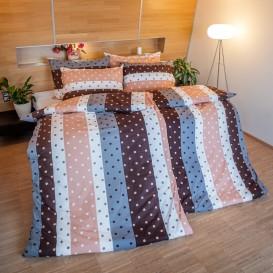 Bavlnené posteľné prádlo Bodky