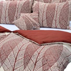 Bavlnené posteľné prádlo Listy