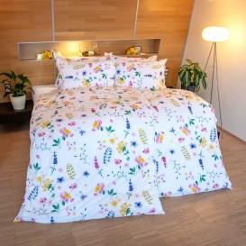 Krepové posteľné prádlo Lúka