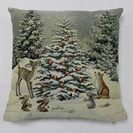 Gobelínový povlak Vánoce v lese