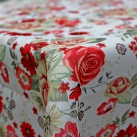 Obrus teflónový Ruže vzor 674