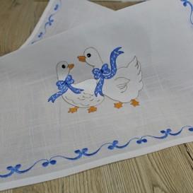 Ubrus Modré housky 40x160