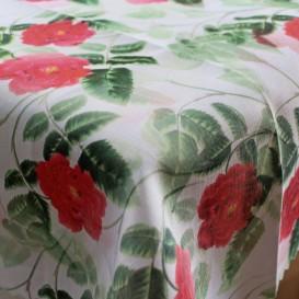 Obrus teflónový červené růže vzor 732