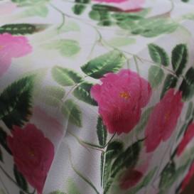 Obrus teflónový růžové růže vzor 733