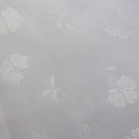 Obrus teflónový bílý potlačený vzor 1S
