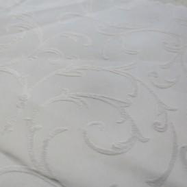 Obrus teflónový bílý potlačený vzor 2A1