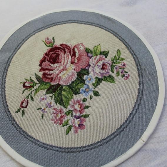 Gobelínový obrus Romantické ruže  kruh 27cm
