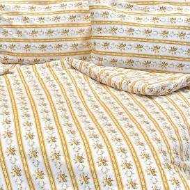 Krepové posteľné prádlo Retro béžové