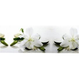 Samolepiaca bordúra Biele ľalie BO526810 10,6cmx5m