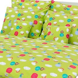 Detské posteľné obliečky bavlnené LS333 140x200+70x90cm