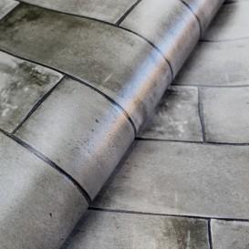 Umývateľný 3D obklad na stenu Béžová mozaika š.67,5cm