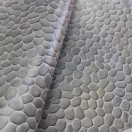 Umývateľný 3D obklad na stenu Sivá tehla š.67,5cm