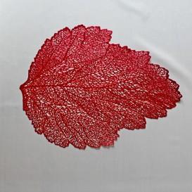 Pvc prestieranie metalické list - pastelová starorúžová