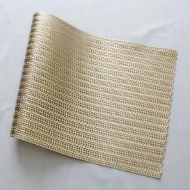 Pvc prestieranie metalické list - zlatá