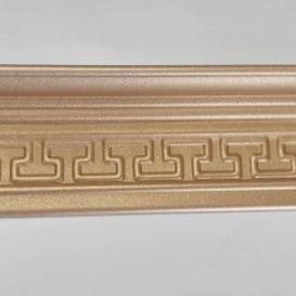 Polystyrénová stropná lišta zlatá M17 2m(85x55mm)