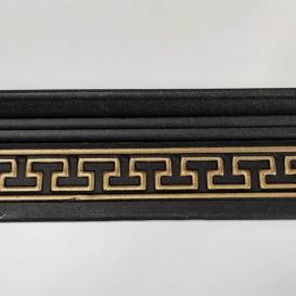 Polystyrénová stropná lišta zlatá M17CZ 2m(85x55mm)