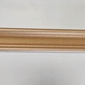 Polystyrénová stropná lišta zlatá M3 2m(30x30mm)