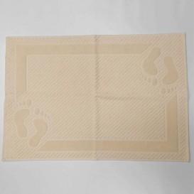 Bavlnená predložka do kúpeľne 50x70cm krémová