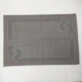 Bavlnená predložka do koupelny 50x70cm hnědá