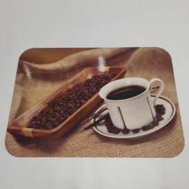 Pvc prostírání káva 1