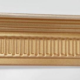 Polystyrénová stropná lišta zlatá M8 2m(85x55mm)